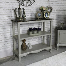 Vintage grey console hall table sideboard French country hallway room furniture