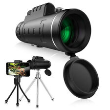 40*60 Zoom Optical Hd Lens Monocular Telescope+ Tripod+ Clip For Universal Phone