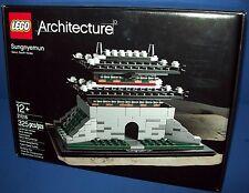 LEGO 21016 SUNGNYEMUN Architecture Retired NISB