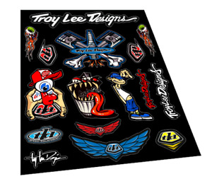 TROY LEE DESIGNS Stickers Decals Motorcycles Bikes Bicycles Racing Off Road 2I