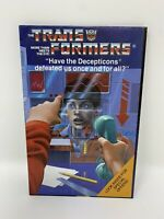 1985 Hasbro transformers G1 catalogue 1-2 brochure poster version canadienne Japon