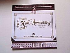AIL Systems Inc, 50th Anniversary Calendar 1995, Aerospace Co Deer Park NY