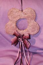 Fensterschmuck - Deko - Blume flieder lila - Schleifchen - Hängeschmuck - süß