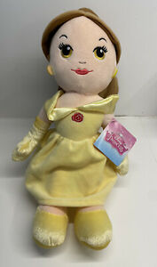 """Disney Princess Cute 12"""" Belle Soft Plush New With Tag"""