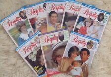 Princess Diana Royalty Magazine Volume 2 Eight Issues Photos 1982