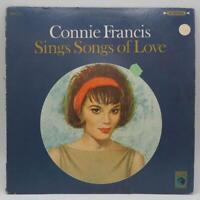 Vintage Connie Francis Sings Songs Of Love Record Vinyl LP Album