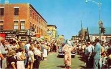 Rockland Maine Seafood Festival Parade Vintage Postcard J54390