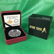 2016 Star Trek City on the Edge of Forever PF COA 5433 Case Capsule Box–No Coin