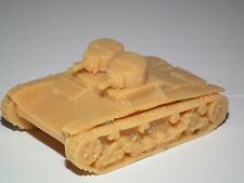 WWII BRITISH VICKERS 6 TON A LIGHT TANK TWIN MG TURRETS  RESIN KIT - 20MM  - B27