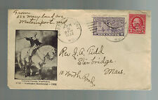 1932 US Special Delivery Cover Westport Maryland George Washington Cachet