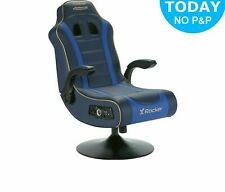 X-Rocker Adrenaline VII Gaming Chair - Blue - OB90