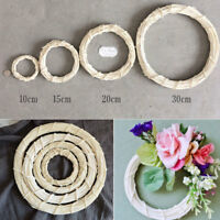 Handmade Willow Wicker Wreath Round Ring Wall Table Display Base Chirstmas Decor