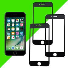 """3x 3D Displayschutz für iPhone 7/8 4,7"""" Schutz Glas Folie komplett Full Cover 9H"""