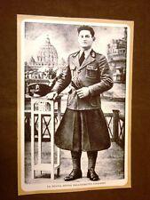 Il Fascismo in Italia Anno 1930 La nuova divisa dell'esercito Italiano Fascista