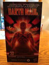 Star Wars The Black Series Darth Maul Lucasfilm 50th Anniversary NEW IN HAND (2)