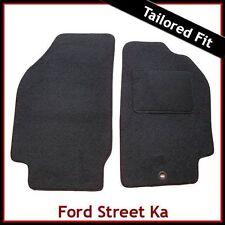 FORD Street Ka Cabrio 2002-2006 montato su misura moquette tappetini Nero
