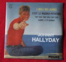 Johnny Hallyday, l'idole des jeunes, CD single 4 titres  numeroté