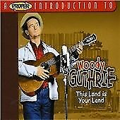 WOODY GUTHRIE THIS LAND IS YOUR LAND 2 CDs SEALED