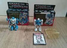 G1 boxed Transformers Autobot Jumpstarters Twin Twist & Topspin free UK delivery