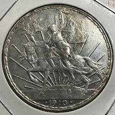MEXICO 1910 SILVER CABALLITO ONE PESO HIGH GRADE BEAUTIFUL COIN