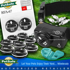 PetSafe PIF-275-19 Wireless Fence Dog Collar Receiver 11 Batteries Black Strap