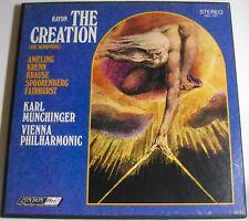 MUNCHINGER / HAYDN 2-Lp Box THE CREATION / Die Schopfung VPO LONDON OSA 1271 NM