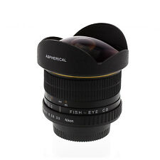 Albinar 6.5mm f/3.5 HD Fisheye Lens for Nikon D5500 D3300 D5300 D7100 D5200