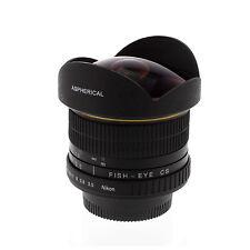Albinar 6.5mm f/3.5 HD Fisheye Lens for Nikon D5500 D3300 D5300 D7100 D5200