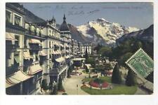 AK Interlaken, Höhenweg, Jungfrau, Hotel, 1911