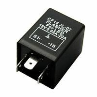 LED Blinker-Relais CF14 Lastunabhängig 3-Polig Flasher Blinkrelais 12V 0,02-20A