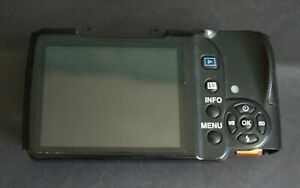 Original Pentax K-r back cover with LCD screen assembly