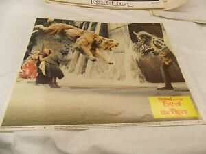 """SINBAD AND THE EYE OF THE TIGER(1977)RAY HARRYHAUSEN 11""""BY14"""" LOBBY CARD #4"""