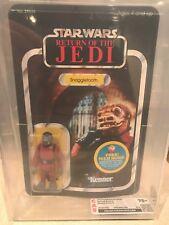 Vintage Star Wars Snaggletooth Return of the Jedi 48 back CAS/AFA 75+