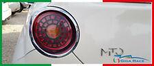 alfa romeo mito adesivo sticker decal luci stop tuning carbon look vinile cover