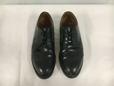 Red Wing men's 12 D, 101 USPS black leather Postman Oxford, Made in USA