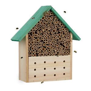 Insektenhotel Bienenhotel Bienenhaus Insektenhaus Wildbienen Nisthilfe Wespen