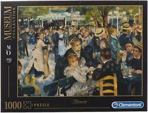 Puzzle MUSEUM COLLECTION Renoir Dance Moulin Da La Galette 1000 Pezzi Clementoni