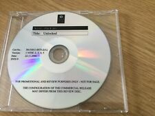 Promotional  DVD - The Cars- Unlocked