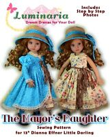 "Undies and Beret Effner 13/"" Little Darling Pattern for  High Waist Dress"