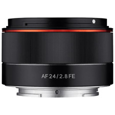 Samyang Sya2se Lente 24 mm AF F2.8 per Sony FE Nero