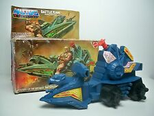 R0500081 BATTLE RAM WITH BOX HE-MAN MOTU VINTAGE