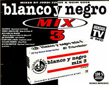 CASx2 - Various - Blanco y Negro Mix 3 (MIXED BY J.LUQUE&Q.QUER) SEALED* LISTEN)