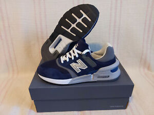 New Balance MS997HGB Navy Blue Grey Sport Pigment Men's Running Shoes Size 8 DS