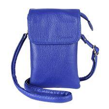 MINICAT Roomy Pockets Premium Soft Leather Crossbody Cell Phone Purse Wallet Bag