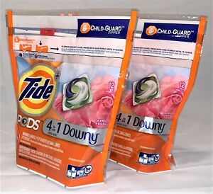 2X Tide Pods HE Turbo Liquid Laundry Detergent Pacs Scent of Your Choice