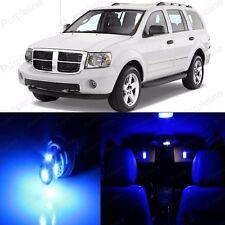 8 x Blue LED Interior Light Package Kit For Dodge Durango 2004 - 2009 + TOOL