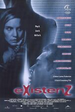 EXISTENZ Movie POSTER 27x40 Jennifer Jason Leigh Jude Law Ian Holm Willem Dafoe