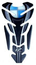 MOTORCYCLE TANK PAD 3D PROTECTOR PARASERBATOIO SCHUTZ PAD BMW R SERIES BLACK