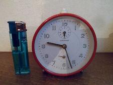 Ancien réveil JUNGHANS en métal - GERMANY - Vintage