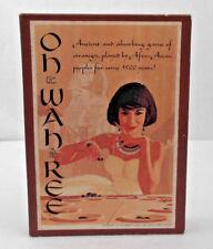 Oh Wah Ree, 3M BookShelf Game, Vintage, Complete